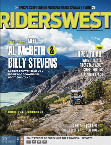 Cover of Spring 2017 RidersWest