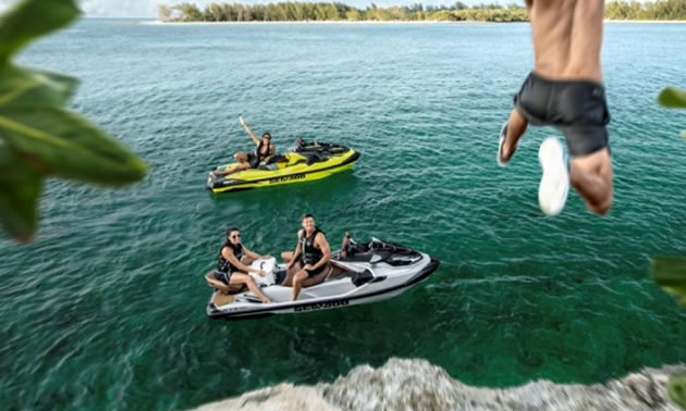 BRP introduced an ingenious new platform on select 2018 Sea-Doo models