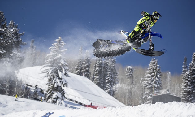 Big news! There will be a snow bike Best Trick competition at X Games Aspen 2018.