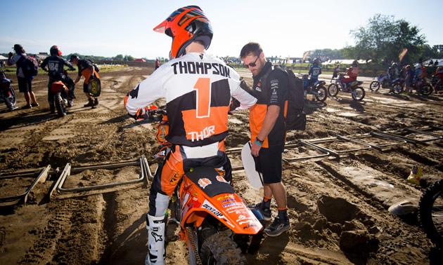 MX defending champion, Cole Thompson.
