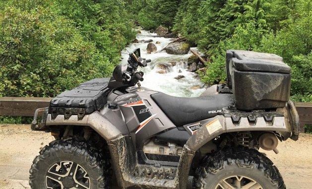 A fun GPS ride near Mt. English.