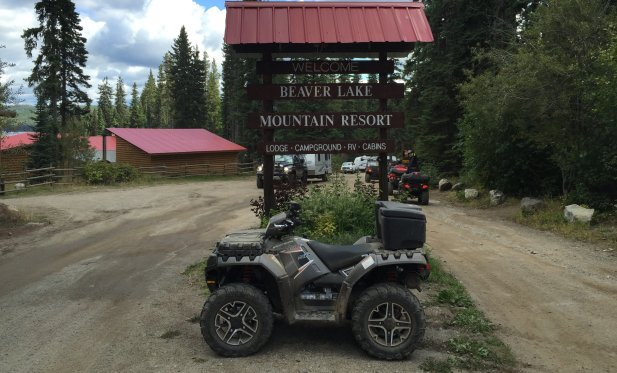 This rider took out his new Polaris 2015 850sp, at the Vernon ATV Club Labour Day Ride.