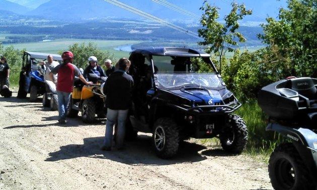 ATVing in Creston, BC