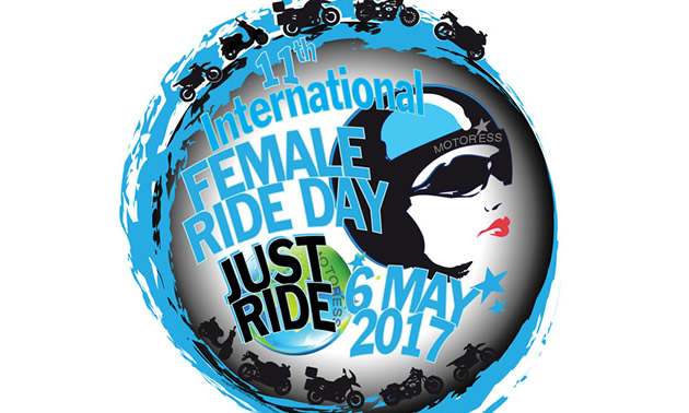 International Female Ride Day takes place on Saturday, May 6th, 2017.