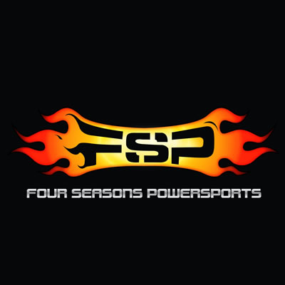 Logo for Four Seasons Power Sports in Fort McMurray.