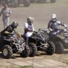 ATVers racing
