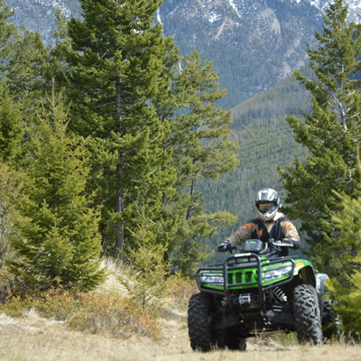How safe is your ATV helmet? ATV organizations across Western Canada recommend replacing your helmet every three to five years to ensure it will protect you properly.
