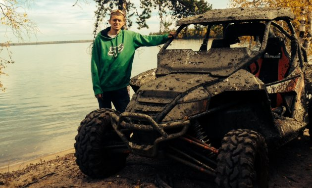 Brandon Heim from Bonnyville, Alberta, sent us this shot of him and his 2013 Arctic Cat Wildcat 1000 Limited.