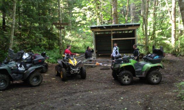 Taken at the Right Nutz ATV Club's shack at Tamihi Creek near Chilliwack, B.C.