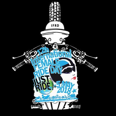 Logo for International Female Ride Day