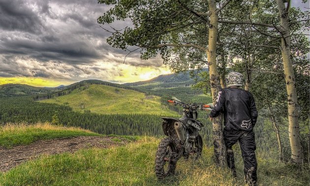 Get out and ride - the world is yours to explore.