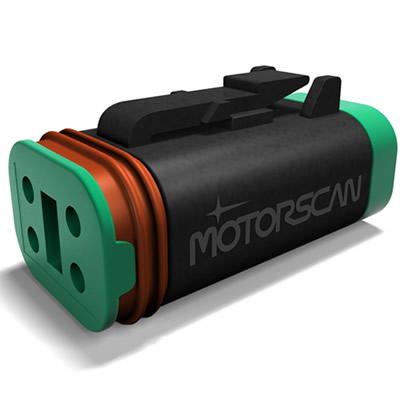Motorscan diagnostic tool for Harley-Davidson motorcycles.