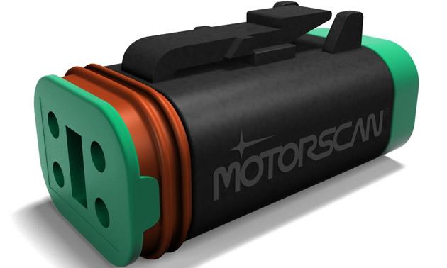 Motorscan diagnostic tool for Harley-Davidson motorcycles.