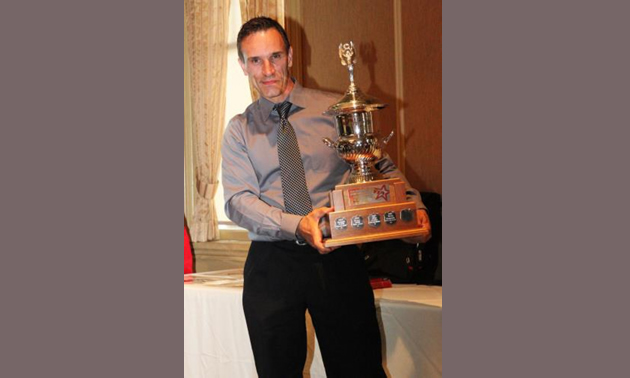 Nick King, awarded the title of 2014 Yamaha Canadian Tech GP Champion!
