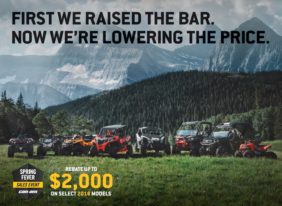 Can-Am Spring Fever ad