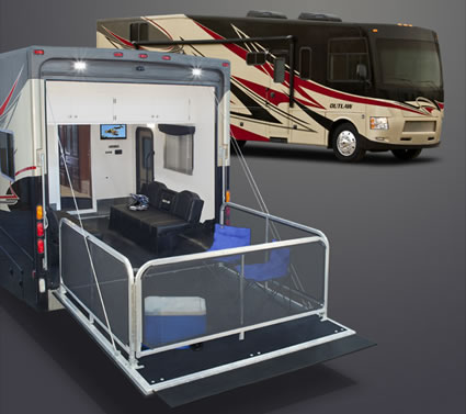 Outlaw 37md Toy Hauler Motorhome Riderswest