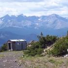 Cabin near an ATV trail