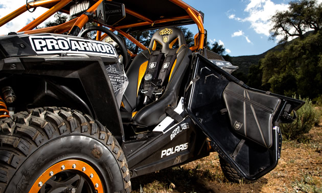 pro armor polaris rz machine