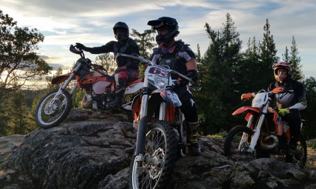Biking on rugged terrain is every rider's dream come true.