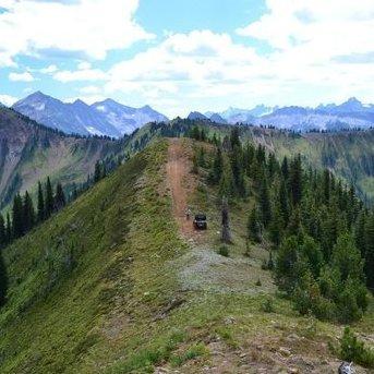 Picture is taken on Hailstone Ridge near Nakusp.