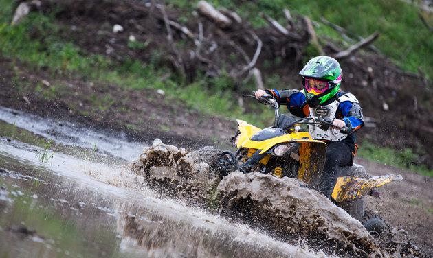 mud bogging in SK