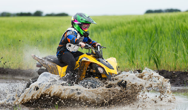 Quadding in Saskatchewan
