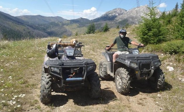 Quadding in beautiful B.C.