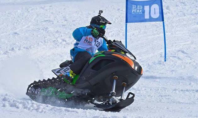 Snowhawk racing.