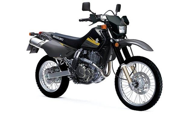 The Suzuki DR 650 is a dual sport bike.