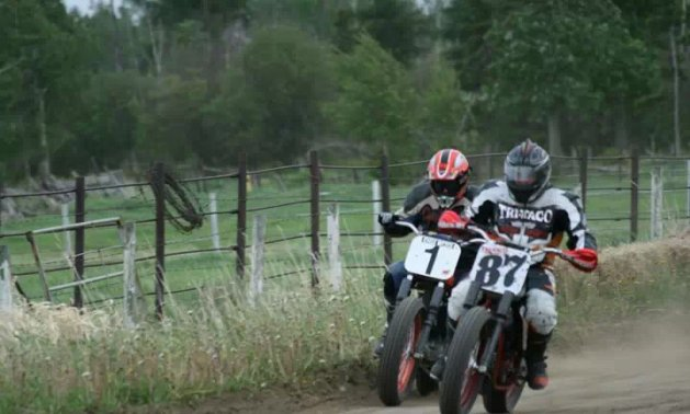 Motocross in Thorhild, Alberta