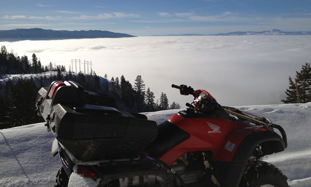Quadding in Vernon, BC