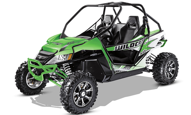 Picture of Wildcat ATV.