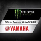 Green Monster logo and red Yamaha logo