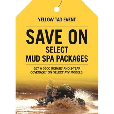 Can-Am Yellow Tag sales event ad
