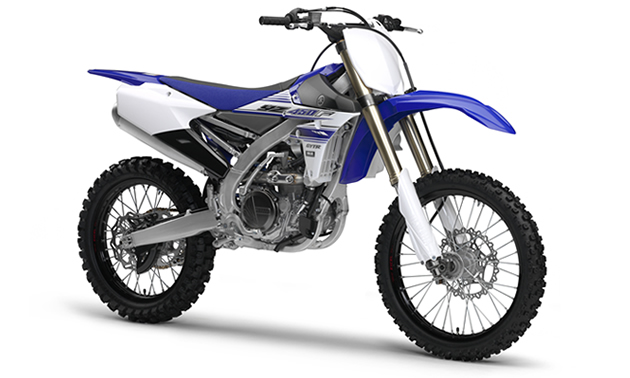 Yamaha YZ 450 dirt bike for motocross.